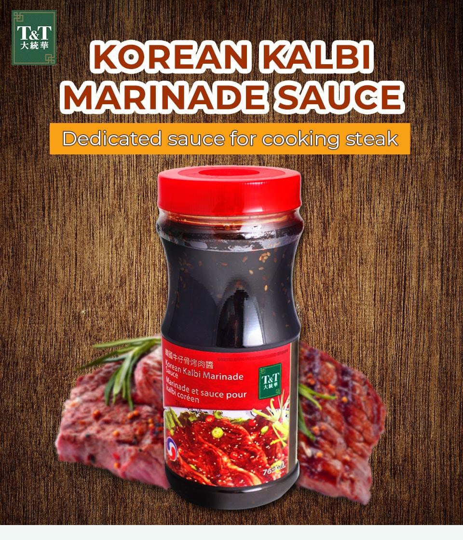 T T Korean Kalbi Marinade Sauce T T Supermarket