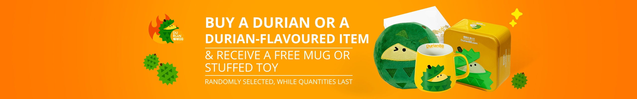 Free Gift With Durians!