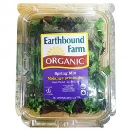 Organic Mixed Baby Greens