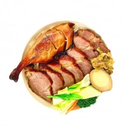 Bbq Pork+Duck Bento Box