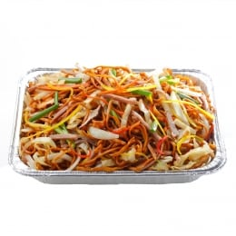 T&T Kitchen Fried Noodles With BBQ Pork (Hot)