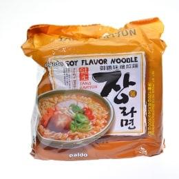 Paldo Soy Flavor Noodle 5Pk 120gx5
