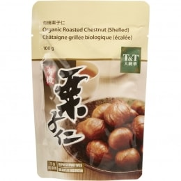 T&T Organic Roasted Peeled Chestnut