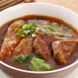 红烧牛肉+汤 - 冷