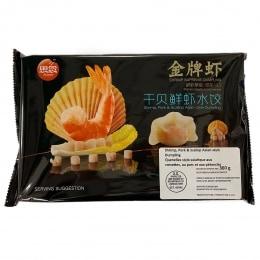 思念金牌虾乾贝鲜虾饺