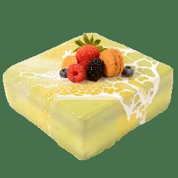 抹茶麻糬慕丝蛋糕