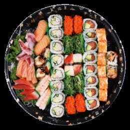 桔梗什锦 刺身寿司卷物 拼盘
