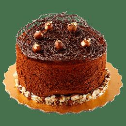 榛果流心蛋糕