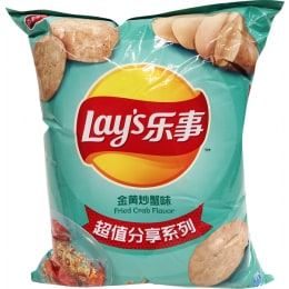 Lays Fried Crab Flv Chips