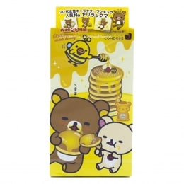 Okamoto Condoms Rilakkuma Honey Condoms