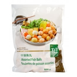 T&T Frozen Assorted Fish Balls 800g