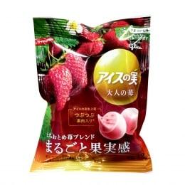 固力果草莓果粒冰