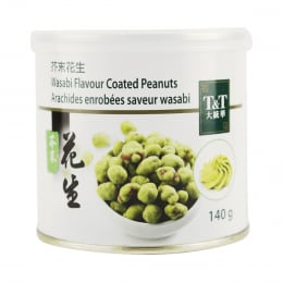 T&T Wasabi Peanuts 140g