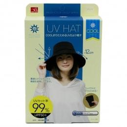 UC SUN PROTECTION HAT BLACK