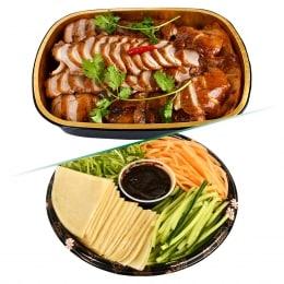 T&T Kitchen Peking Duck -Whole + Condiments Combo