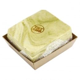 抹茶红豆蛋糕砖
