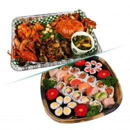 Mid-Autumn KD Combo B-Seafood Platter+Sushi