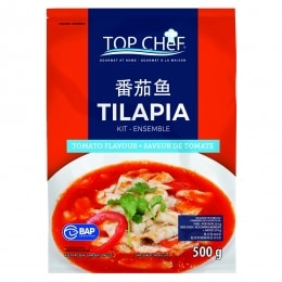 Fish Fillet With Tomato Flavor