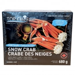 Frozen Snow Crab Cluster