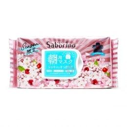 Bcl Saborino Morning Face Mask Sakura 28s
