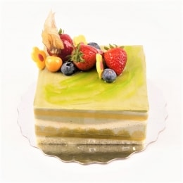 5.2In Green Tea Mousse Cake