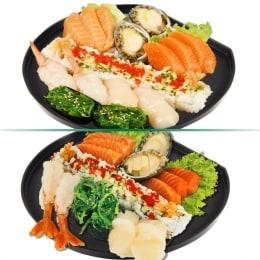 T&T Kitchen Ocean Delight Sushi Tray 540G (20 Pcs)