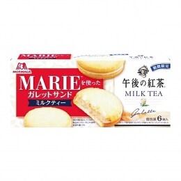 Morinaga Marie Milk Tea Pie 162g