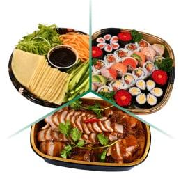 T&T Kitchen Mid-Autumn Sushi + Peking Duck Combo