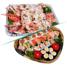 T&T Kitchen Mid-Autumn Sushi + Cream Crab & Lobster Combo