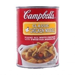 Camp. Classic Chicken Noodle Soup