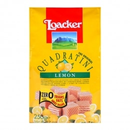 Loacker Quad Lemon Wafer