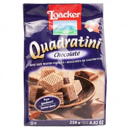 LOACKER QUAD CHOCOLATE WAFER