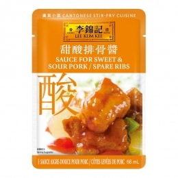 LEE KUM KEE SWEET&SOUR SPARE RIBS SAUCE