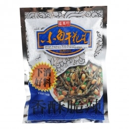SHJ DRIED LITTLE FISH WITH PEANUT