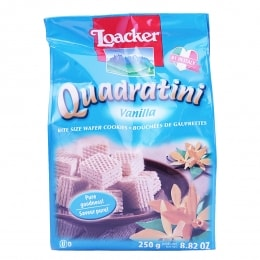 Loacker Quad Vanilla Wafer