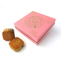 T&T Mooncake - Lotus Seed With 2 Yolks (4S)