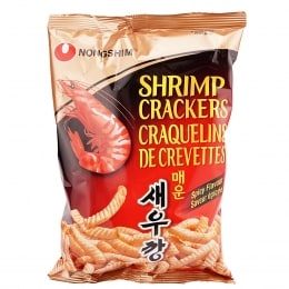 Nongshim Hot & Spicy Shrimp Flavoured  Crackers