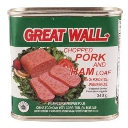 长城火腿午餐肉