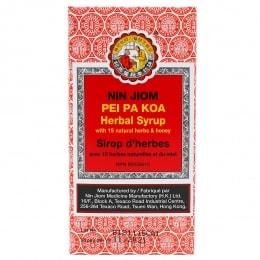 King To Nin Jiom Herbal Sore Throat Syrup