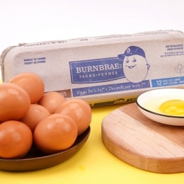 BURNBRAE FARMS LARGE BROWN EGGS