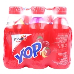 YOPLAIT STRAW-BANANA/RASP YOGURT DRINK