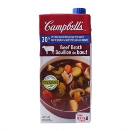 CAMPBELL LOW SODIUM BEEF BROTH TETRA
