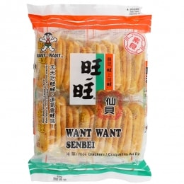 Want Want Senbei Rice Cracker
