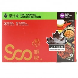 SOO FRUIT FLAVOURED PORK JERKY
