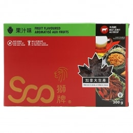 Soo Fruit Flavoured Beef Jerky