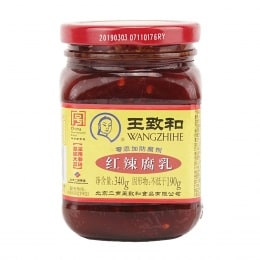 WANGZHIHE RED CHILLI FERMENTED BEAN CURD