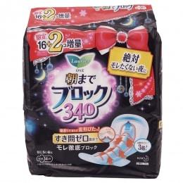 花王蕾妮亚超吸收卫生巾34CM