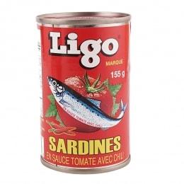 LIGO SARDINE IN HOT CHILI SAUCE