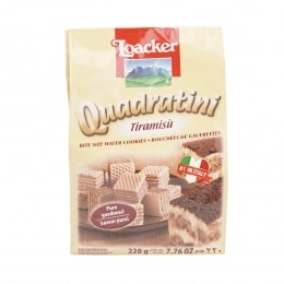 Loacker Qand Tiramisu Wafer