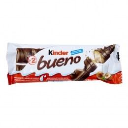KINDER BUENO MILKY HAZELNUT CHOCOLATE